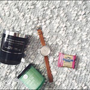 Skagen Tan Leather Watch